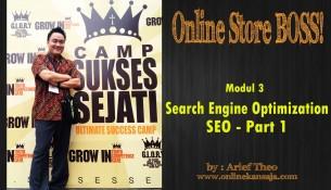Cara SEO Untuk Toko Online PART 1 – Internet Marketing Tutorial Arief Theo