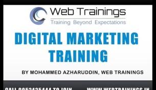 Digital Marketing Training  in Hyderabad  – Part 1