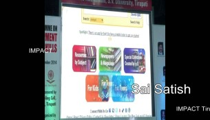 Tips on Earning Money via Internet by Sai Satish at IMPACT Tirupati