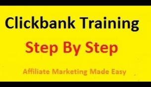 Clickbank Affiliate Marketing Training Video 1