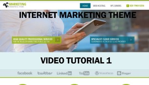 Internet Marketing WordPress Theme Video Tutorial Install